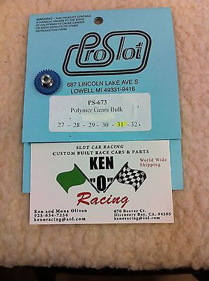 Pro Slot 673-31 48 Pitch X 31 Tooth Spur Slot car Gears
