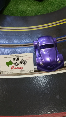 Parma 875CP 1/32 Groovey Grape VW Bug Coupe Painted Body W/Bling