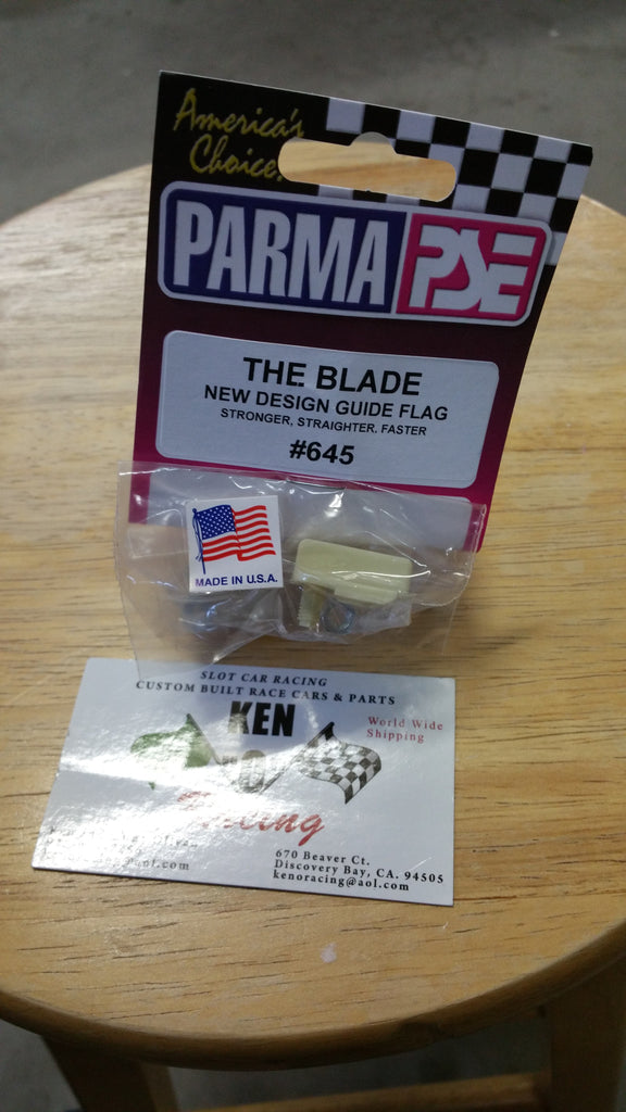 "Parma #645 ""THE BLADE"" threaded Guide Flag"