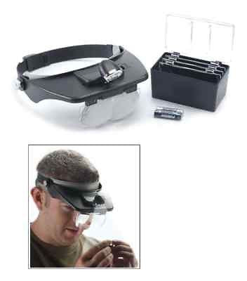 KOR Head Strap Magnifier With Multiple Lenses