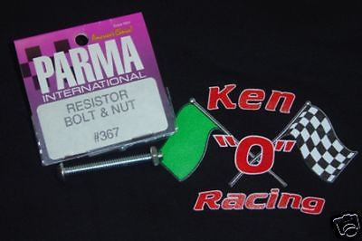Parma #367 Turbo Resistor Mounting Bolt & Nut