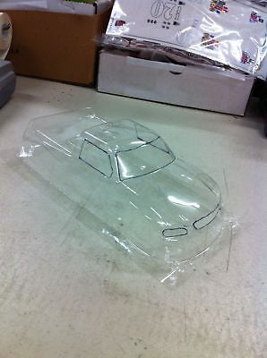 "JK 71171A 4.5"" W/B CLEAR Chevy Nastruck Body .007 Thick"