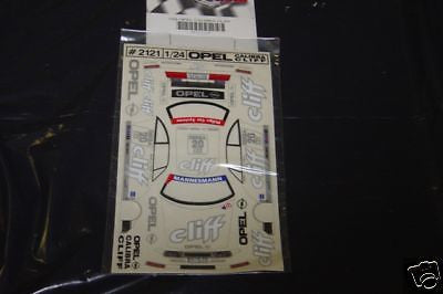 JK GT Opal Cliff #20 Sedan Slot Car Vinyl Decal Set
