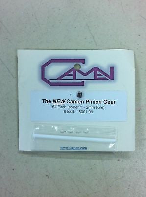 Camen #8001.08 NEW 64 P X 8 T Pinion Gear W/2 mm Bore