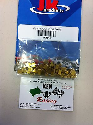 JK 3542 Pre Bent Guide Lead Wire Clips 50 Pr. Bulk Pack