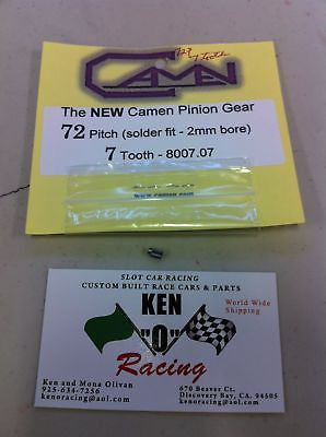 Camen #8007.07 72 Pitch X 7 Tooth Solder On Pinion