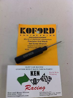 Koford 162 precision .050'  Slot Car Tire and Gear wrench