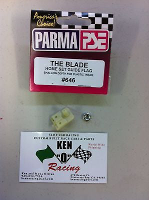 "Parma #646 ""THE BLADE"" Cut Down Home Track Guide"