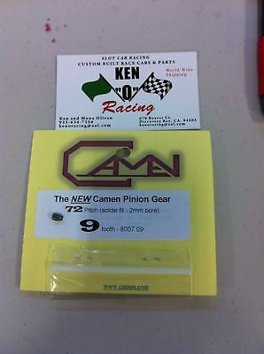 Camen #8007.09 72 Pitch X 9 Tooth Solder On Pinion