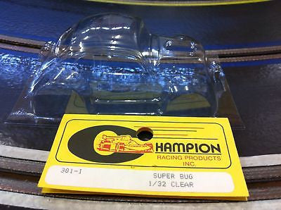Champion 301-I 1/32 Scale CLEAR VW Super Bug Body