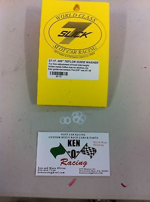 Slick 7 #17 White Teflon Guide Spacers 005 Thick 10-Pk