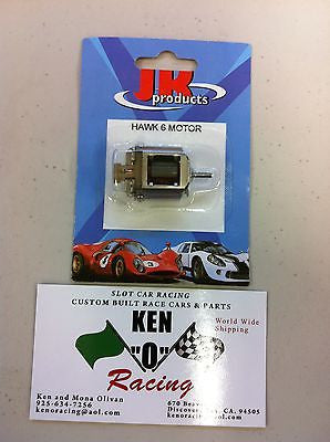 JK # 30306 Hawk 6 Racing Slot Car Mini Motor 50,000