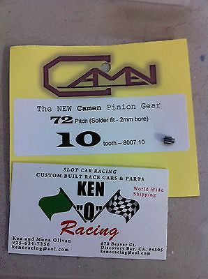 Camen #8007.10 72 Pitch X 10 Tooth Solder On Pinion