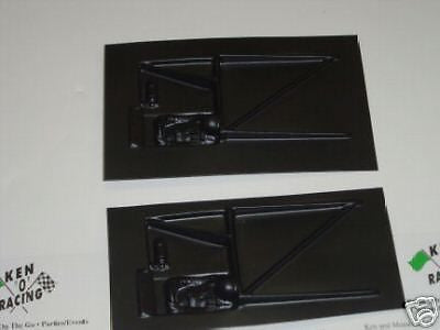 CHA 361C 1/24 &1/32 Scale Slot Stck Car Interiors 6-pak