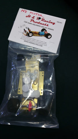 H&R #HRCH 1/24 Hard Body RTR Chassis With Adjustable Wheelbase and NO MOTOR