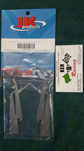 """JK"" X24PA 1/24 Replacement Aluminum Pan For X24 Chassis"