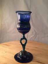 Hand Made Glass Goblet