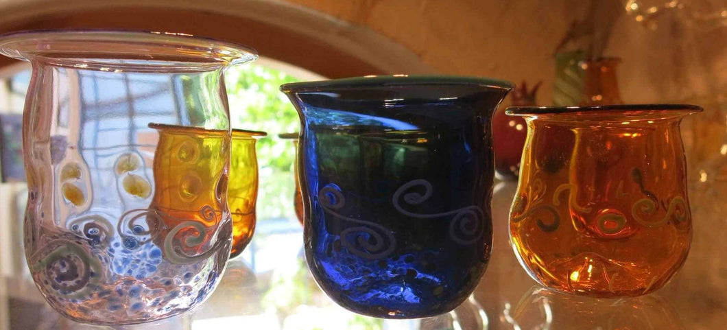 Hand made Glass Cup
