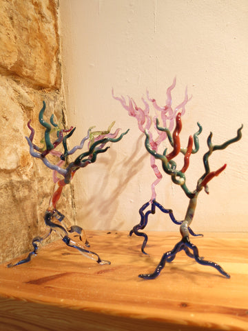 Hand Sculpted Glass Trees