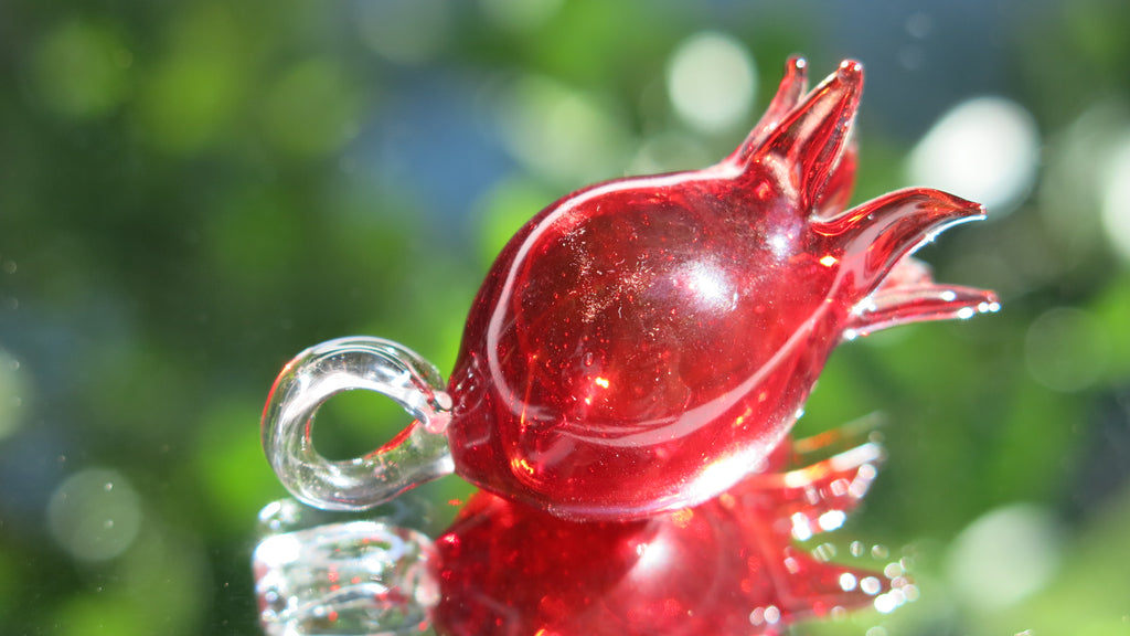 Glass Pomegranate