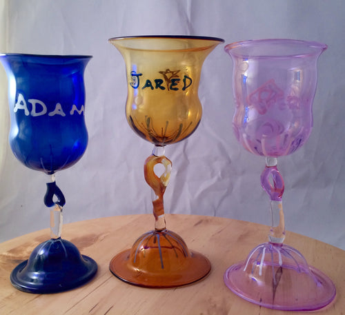 Hand Made Personalized Goblet