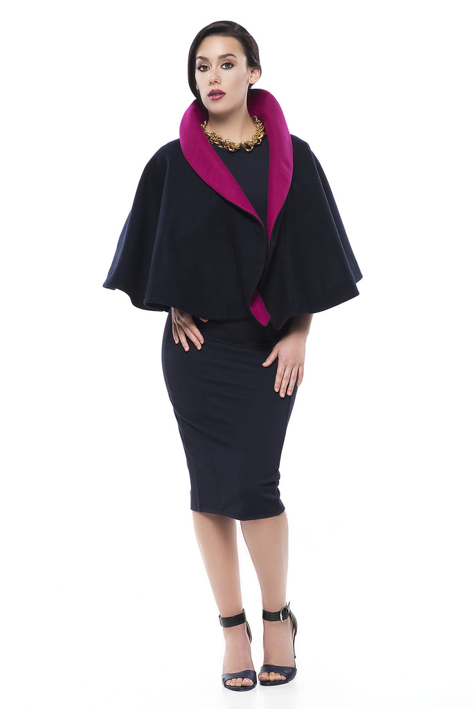 Color-Blocked Capelet