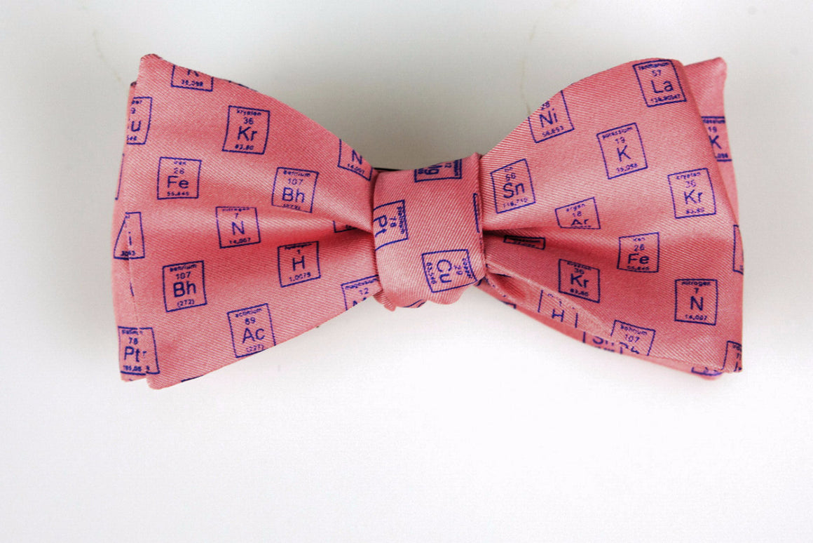 Periodic Table Bow Tie - Science Collection