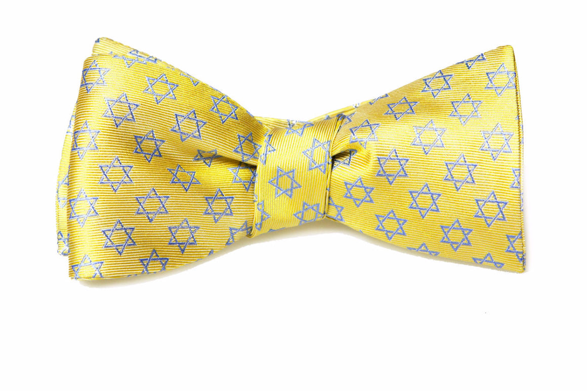 Star of David Bow Tie - Spirituality Collection
