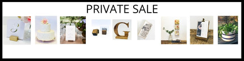 Join our Email List Today to Receive the link to our Private Sale Page!