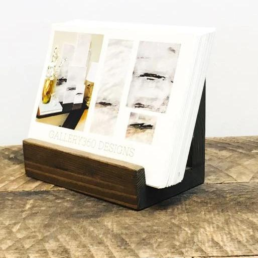 Rustic Post Card Holder - Gallery360 Designs