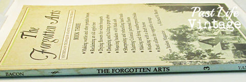 The Forgotten Arts Book 3 Richard M. Bacon 1795 First Edition Softcover