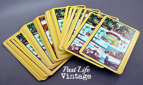 Mid Century Puerto Rico Souvenir Playing Cards Deck