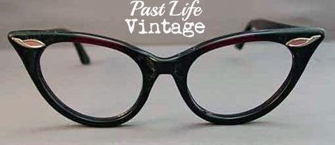 Mid Century Cat Eye Eyeglass Frames True Vintage 1950s NOS