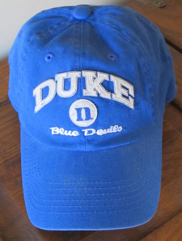 Vintage 90s Duke Blue Devils Cap Hat Adjustable Free Shipping