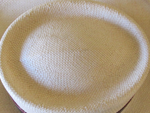 Vintage Men's Panama Hat Pendleton Size M 1990s Like New Free Shipping
