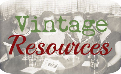 Vintage resources - weblinks to antiques and collectibles information