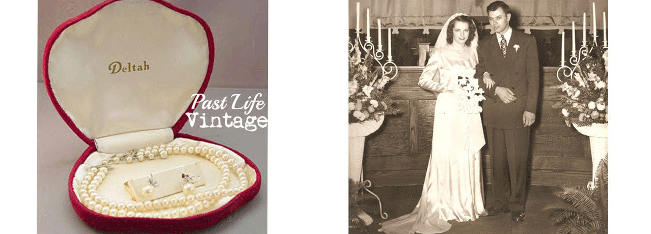 Vintage fashion clothing and jewelry