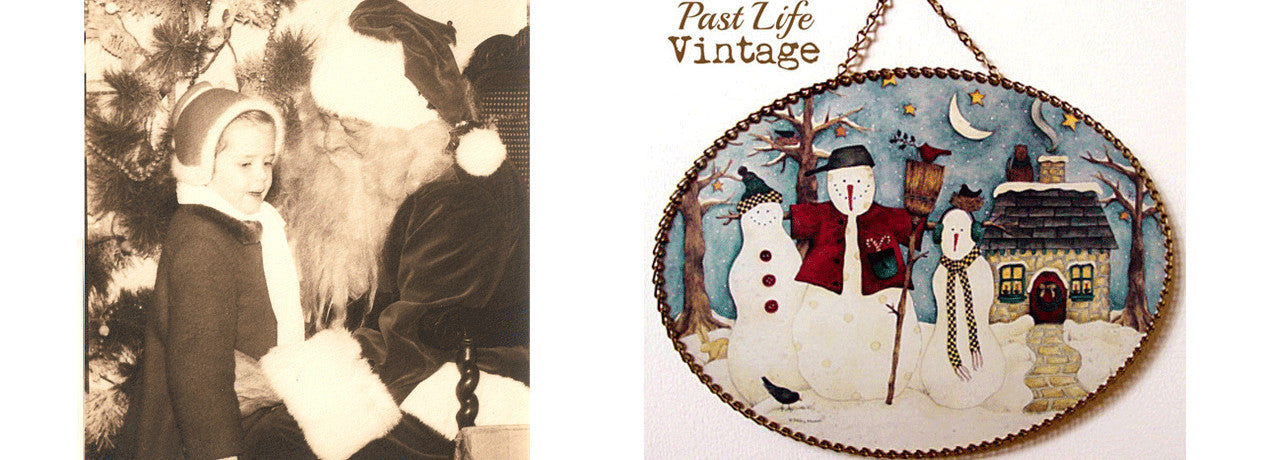 Vintage lifestyle holiday decor