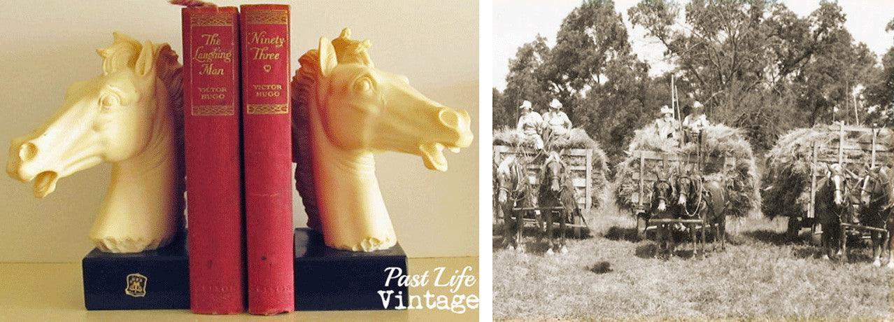 Vintage lifestyle antiques and collectibles