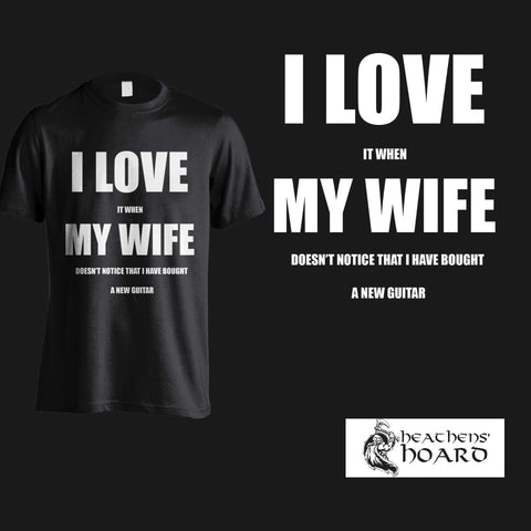 """I Love My Wife"" Shirts & Hoodies."