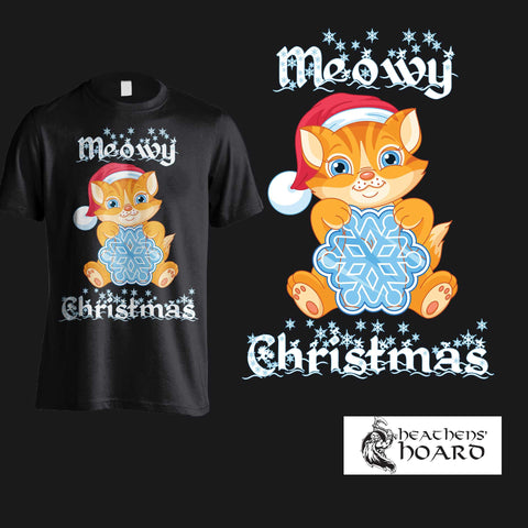 """Meowy Christmas"" Hoodies, SHirts & Tanks"