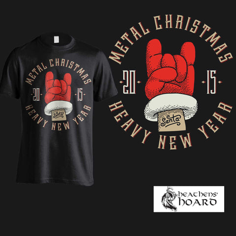 """Metal Christmas"" Hoodies, Shirts & Tanks"