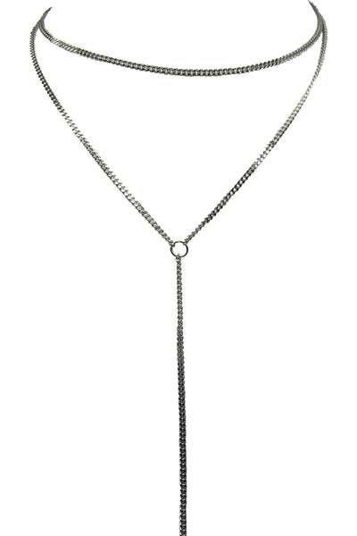 Thick  Chain Lariat