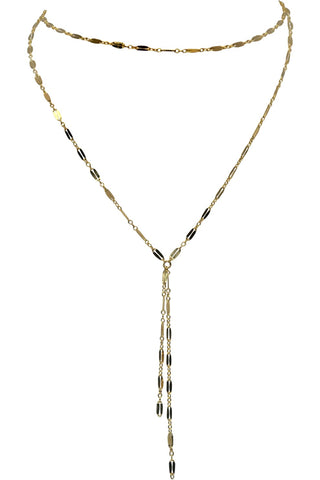 Celebrity Favorite Double Y Necklace
