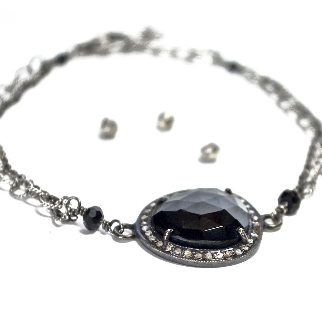 Onyx Diamonad Bracelet