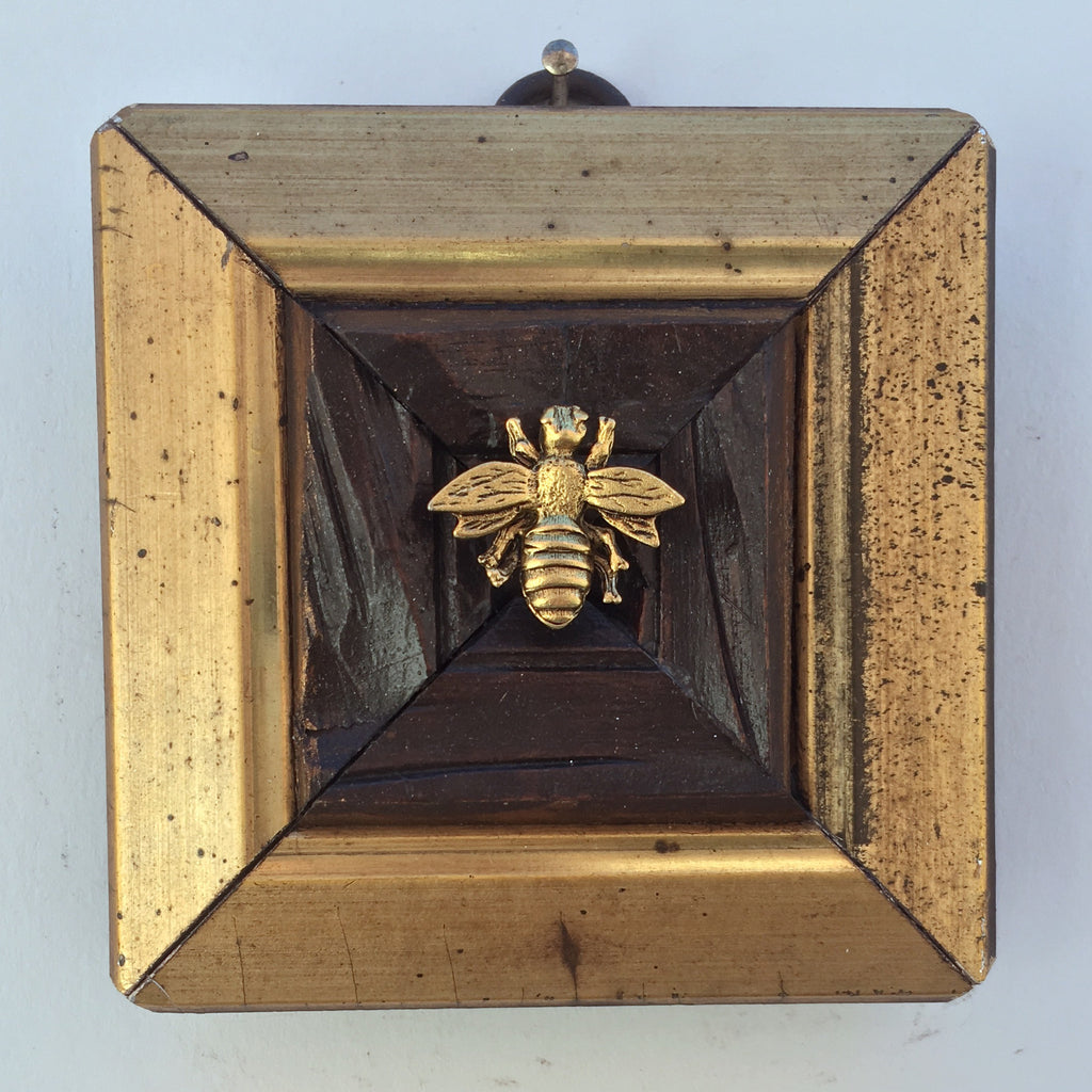 Gilt Wooden Frame with Napoleonic Bee (3