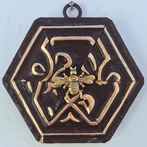 Dark Gilt Frame with Italian Bee (4