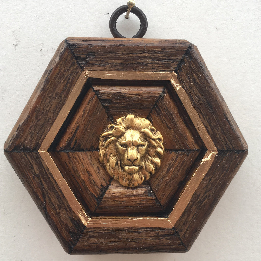 Wooden Frame with Lion (3.75