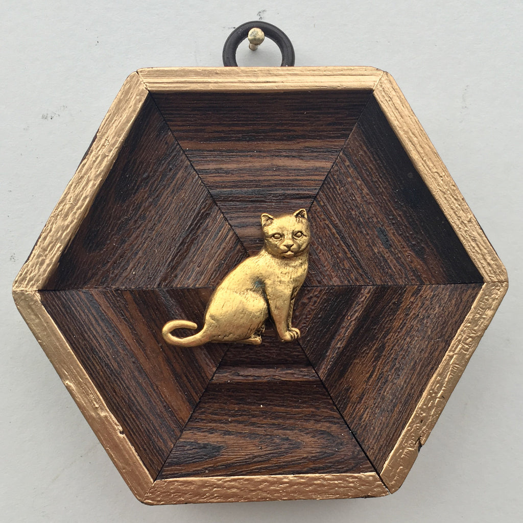 Wooden Frame with Cat (3.5