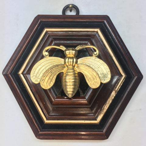 Wooden Frame with Deco Bee (4.5